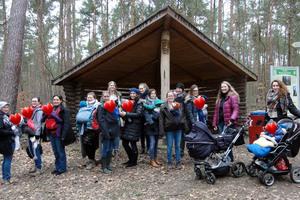 Tragespaziergang Okt 21 - Gonsenheimer Wald