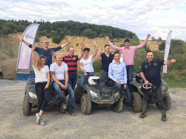 Quad Tour im AdventureSteinbruch