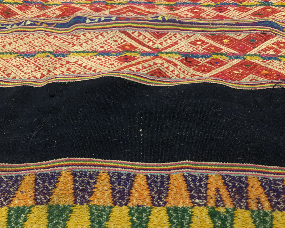Boden-Decke Peru grün