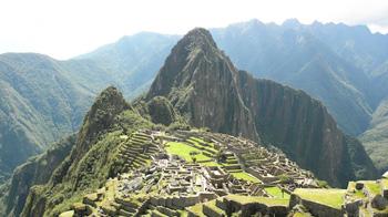 Machu Picchu, wichtiger Teil der Hatun Karpay Peru
