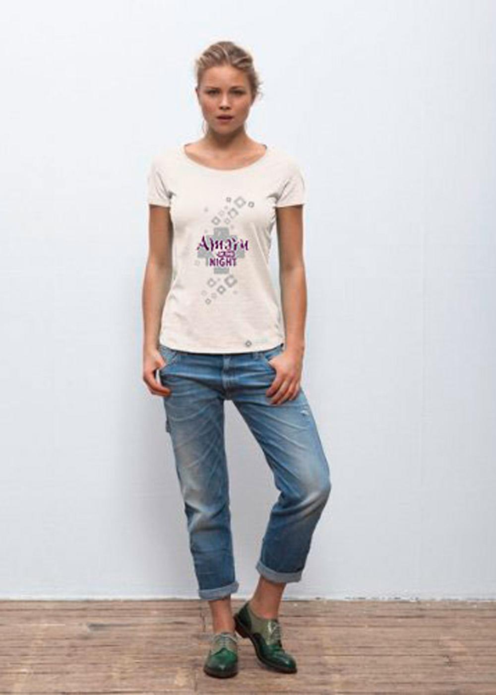 Amaru Damen-Shirt
