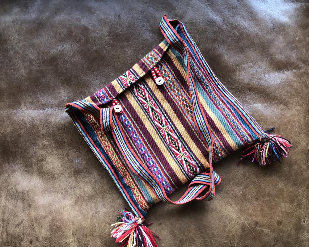 Tasche aus Schafwolle
