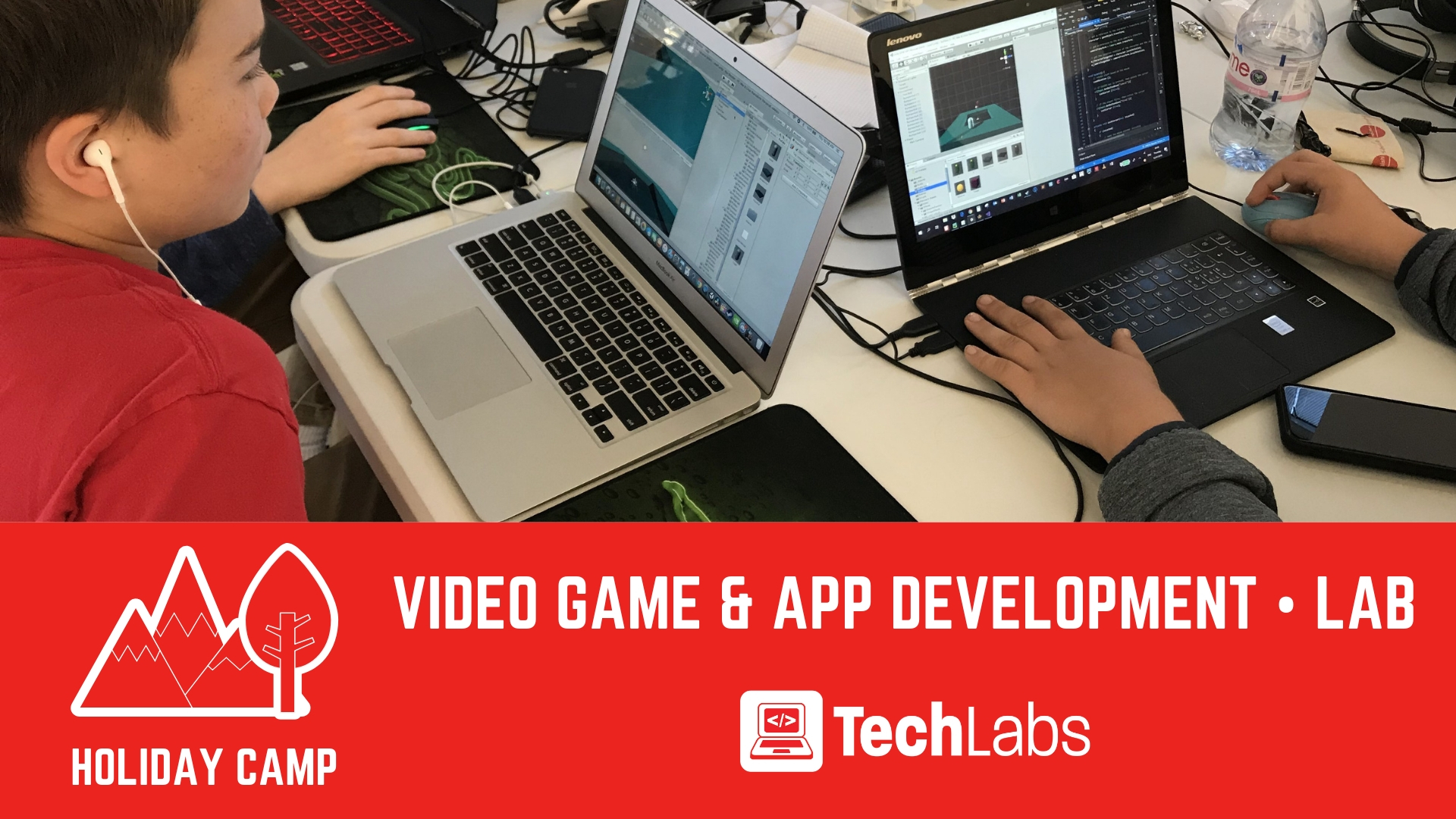 Techlabs | Video Game & App Development | Camp