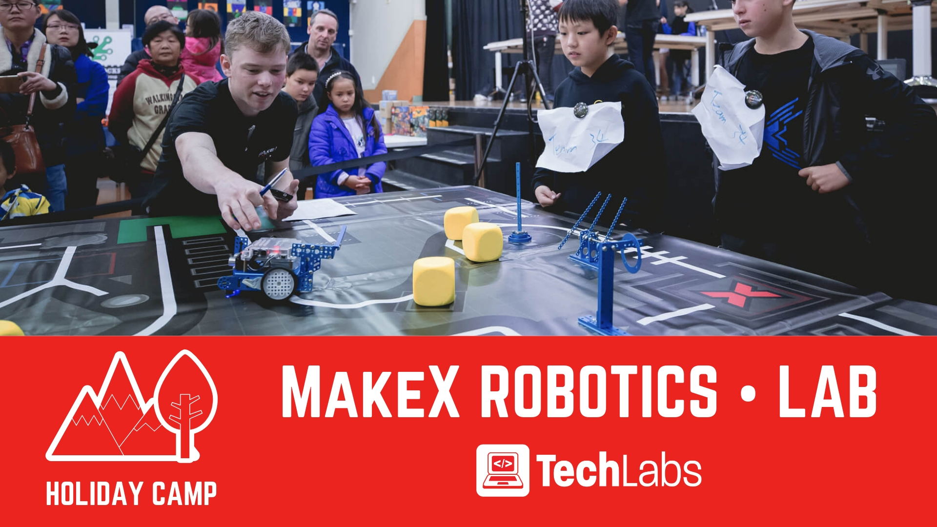 TechLabs | Camp | MakeX Robotics Lab