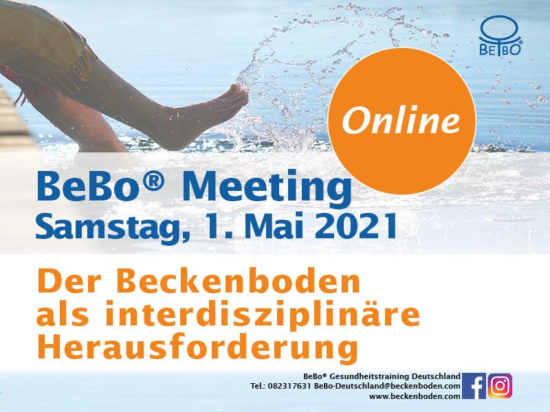 Beckenboden Fachtagung, BeBo® Meeting