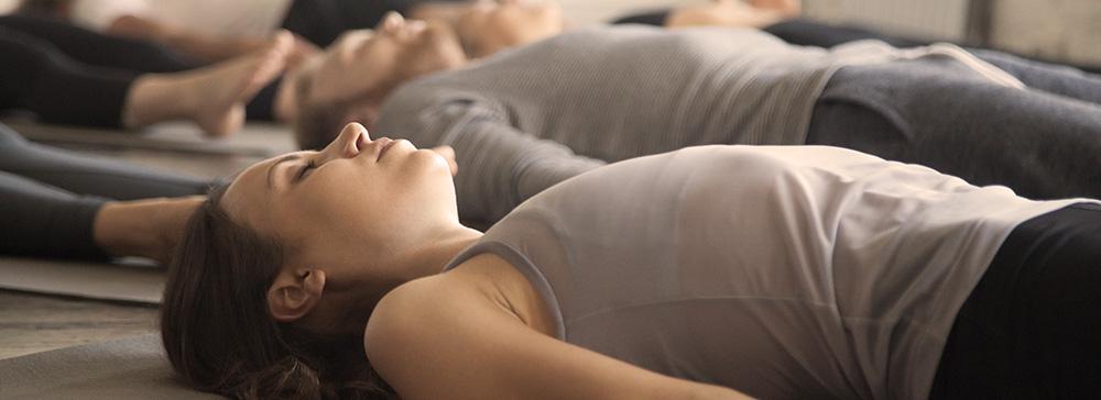 Tiefenentspannung mit Yoga Nidra bei Stina in Karlsruhe