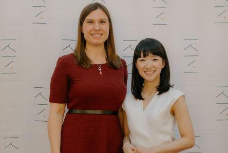 Corinna Rose und Marie Kondo