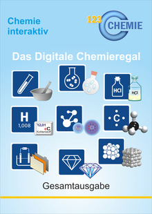 Digitales Chemieregal