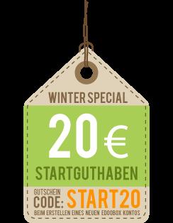 Gutschein Code 20 START20